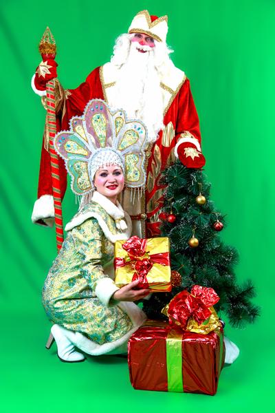 Дед Мороз и Снегурочка в Казани - экипаж №1