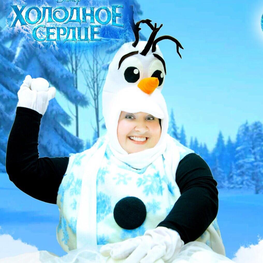 Снеговик в Казани 2016