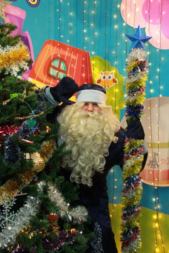 Дед Мороз в Казани 2016